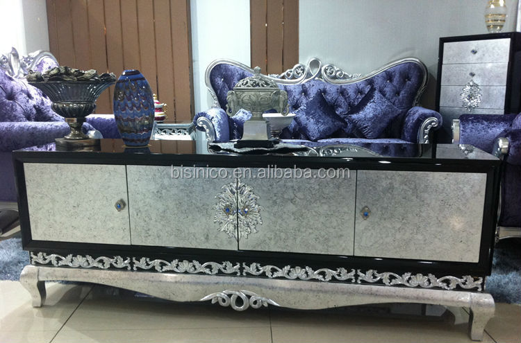 European Neoclassic Style Victoria Dining Room Furniture Rectangular Table
