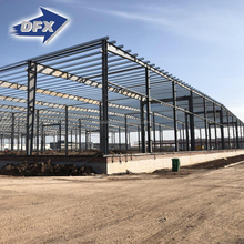 DFX Long Span Galvanized Frame Metal Light Steel Structure Prefabricated Sheds And Workshops Construction