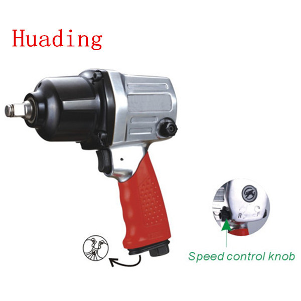air tools heavy duty composite twin hammer air impact wrench
