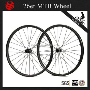 29 inch mountain bike carbon wheels front 28H rear 28H mtb bicycle wheels with DT swiss hubs