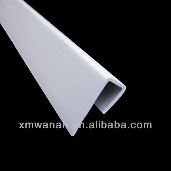 20mm White Color Plastic Shelf Edge Banding - Buy Plastic Shelf ...
