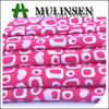 Mulinsen Textile Geometric Design Dots Pattern Printed Poly Spun Polyester Knit Fabric
