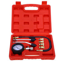 20pc Compression Test tool Kit set Cylinder Pressure Meter for Diesel Truck/auto diagnostic tool for all cars
