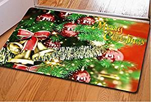 Christmas doormat Bedroom mats Kitchen mat Living room floor mats Door mat Christmasdoormatnon-slipbathmatdust controlmats,4060cm