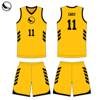 2018 sublimation reversible basketball jersey uniform