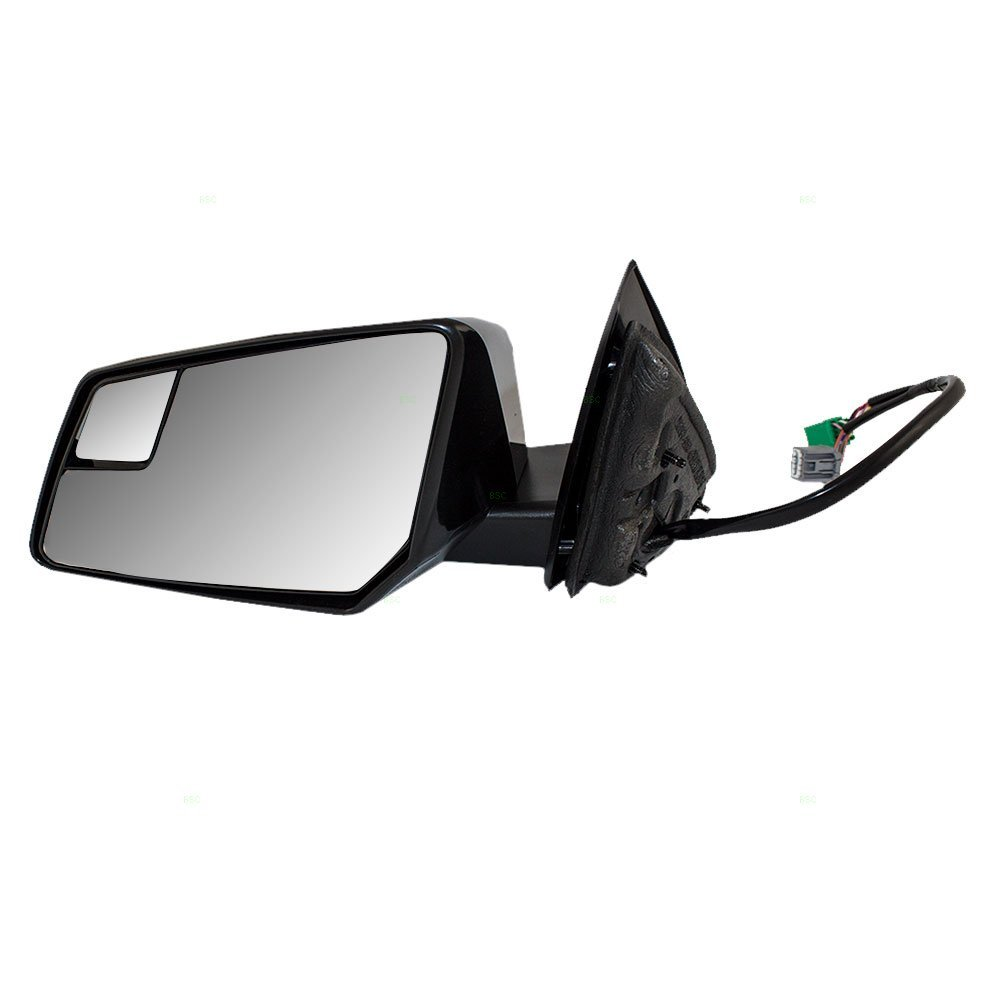 Drivers Power Side View Mirror Replacement Heated Memory Signal Spotter Glass Power Folding for Chevy GMC Saturn SUV 20879244