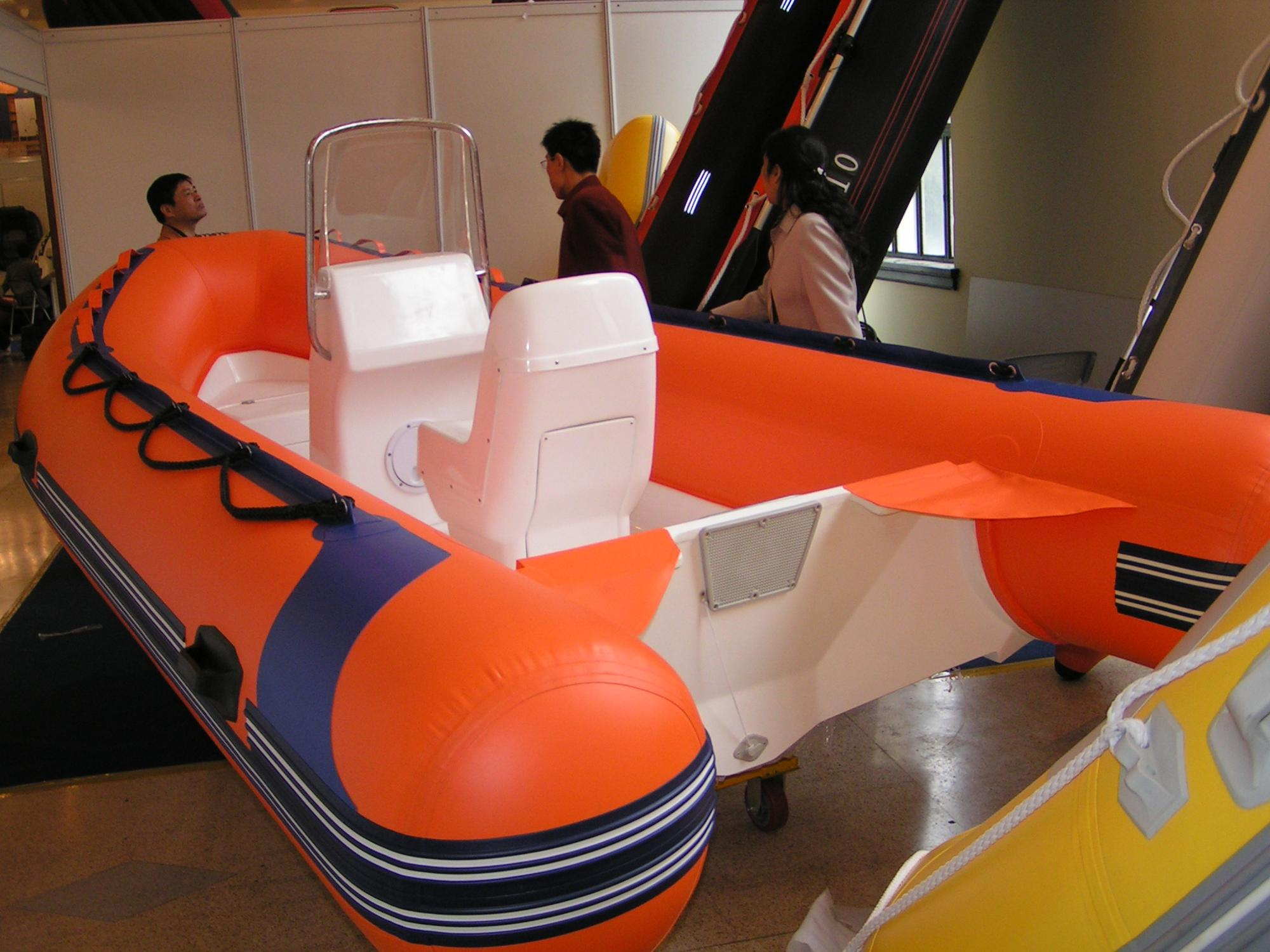 fiberglass rigid inflatable boats PVC boat rib