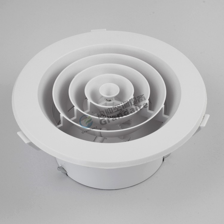 China Factory Cheaper Plastic Air Grille Round Ceiling Air