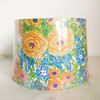wholesale cheap lampshade lining white,hand painted fabric lamp shades