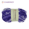 Super Soft Charmkey 100% Polyester Space Dyed Chenille Yarn Fancy Knit Yarn for carpets and blanket