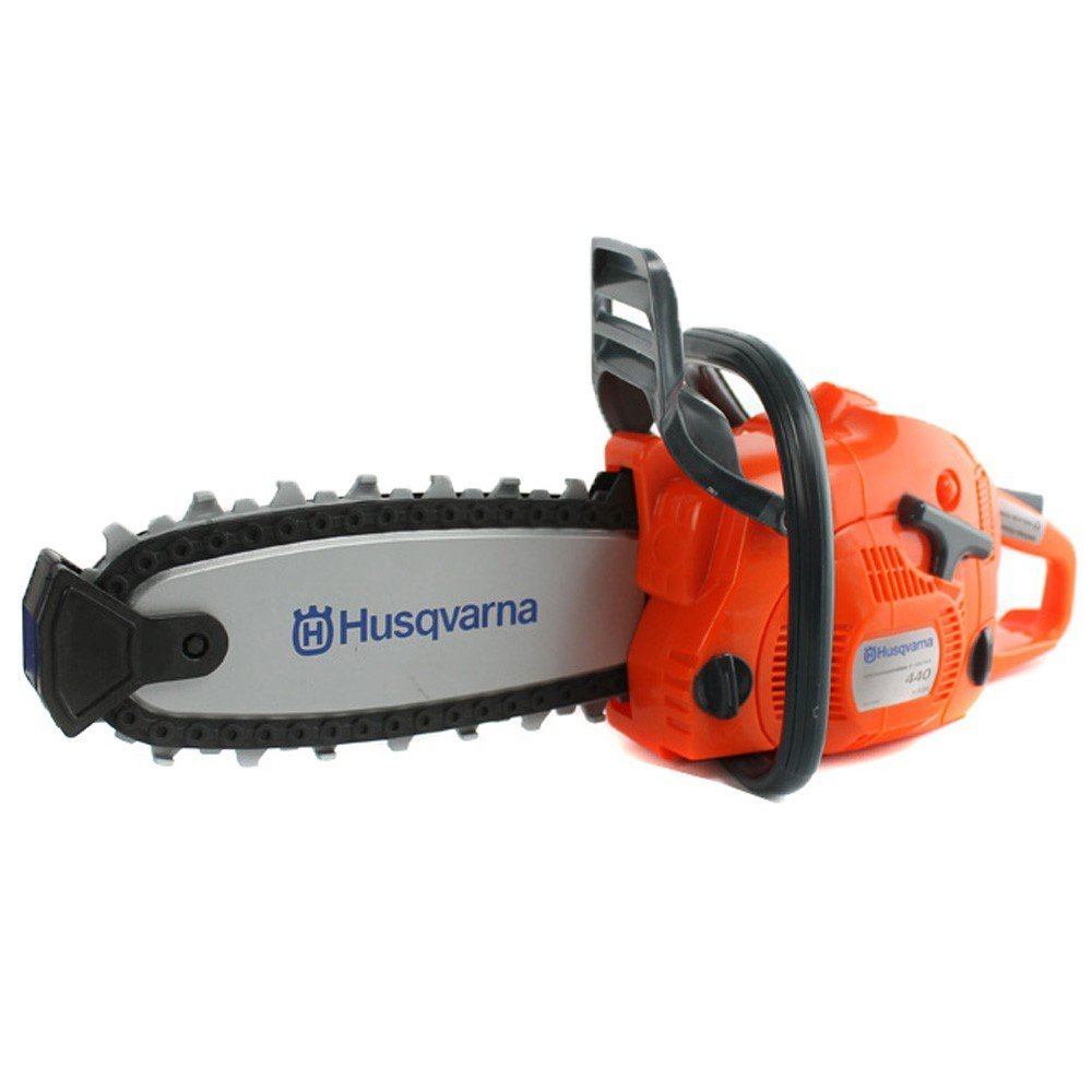 Husqvarna 522771101 440 Toy Kids Battery Operated Chainsaw Rotating Chain