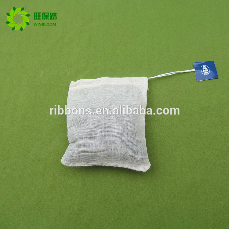 Wholesale OEM Factory Price Tag Cotton Filter Paper Tea Bag Packing