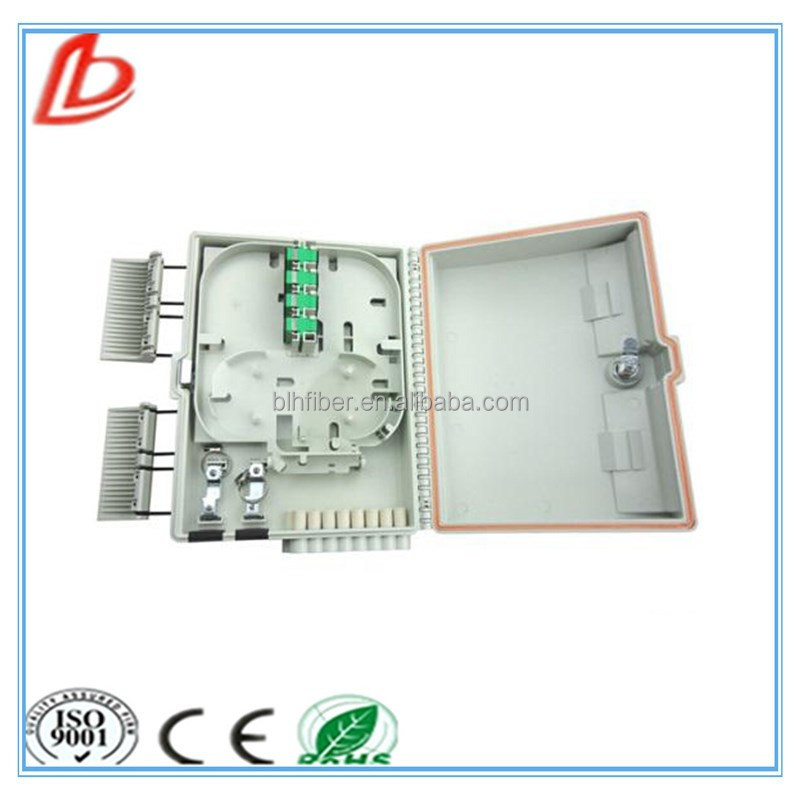 16 Core Fiber Optic Cable Splicer Outdoor Fiber Optic Termination Box With PC ABS Material