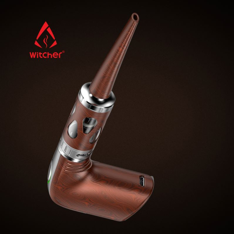 Super Newest Vapor Witcher Mini Pipes Vapvaporizer E E Electric Pipe E-Pipe Wood E Cig Mod Ego E-Pipe
