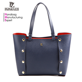 5884-2018 Hot sale branded woman tote bag good quality PU leather handbags 51d059d6cbee5