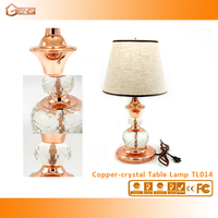 Home Decoration Copper Table Lamp