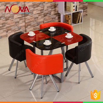 Red And Black Dining Table Wrought Iron Philippine Dining Table Set