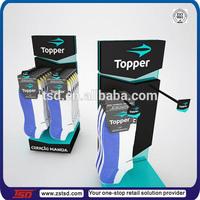 TSD-A396 Custom retail store acrylic socks display rack,tabletop promotional displays,peg hook counter display