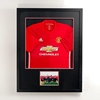 Large Clear Acrylic Lockable Shadow Box Frame For Football Jersey