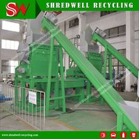Automatic Rubber Granulator for Shredding Scrap Tire