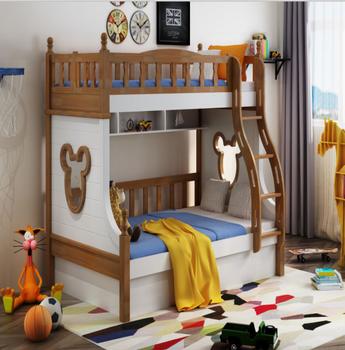 907 Kinder Cartoon Holz Etagenbettenbus Etagenbett Buy Kinder