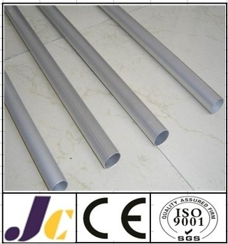 Anodized 6000 series extruded aluminum tube