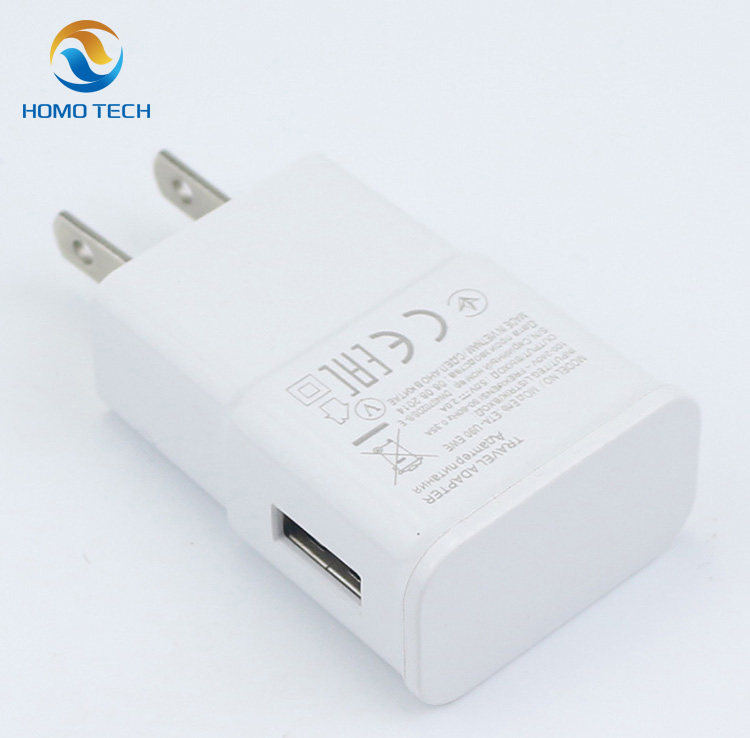 Wholesale portable 5V 2.1A original mobile phone universal travel wall charger for samsung galaxy s4 charger voltage