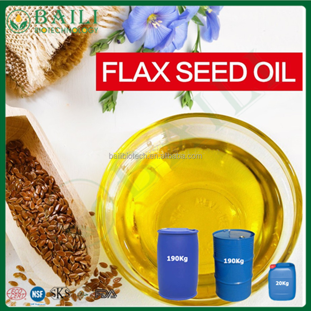 Herbal Flax seed Oil Linseed oil refined vegetable oil
