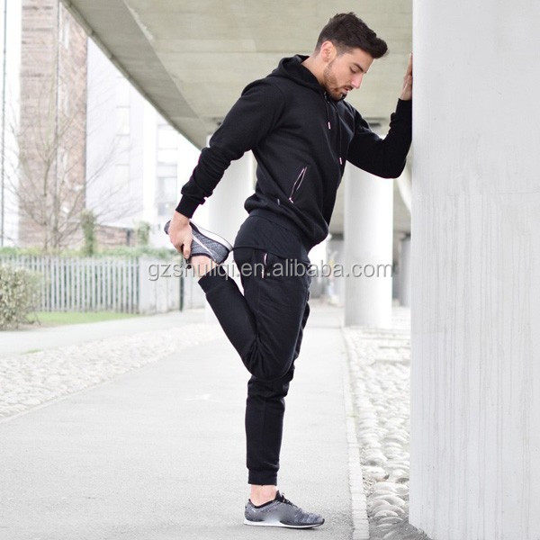 factory price wholesale tracksuit men latest design tracksuit sport full fastening fitted tracksuit