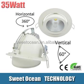 35watt Cob Led Downlight Sy-pl1080-35w Adjustable Downlight