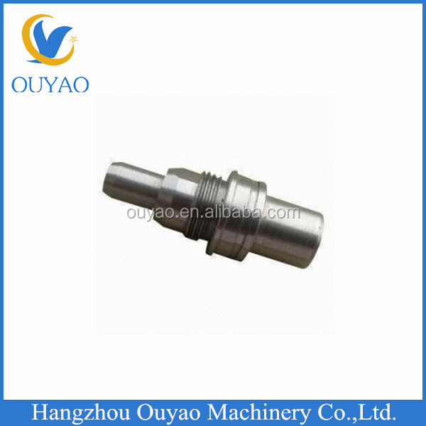 Stainless Steel CNC Precision Machining Parts with Electroplating Finish