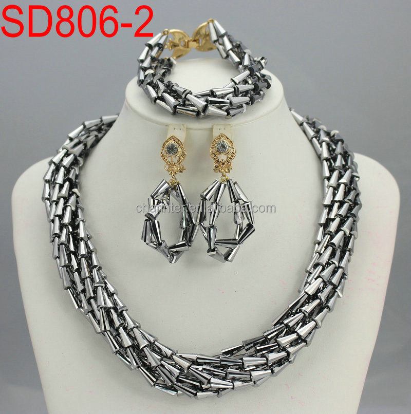African Beads Jewelry Set Latest Nigeria Beads - Buy Beads Jewelry ...