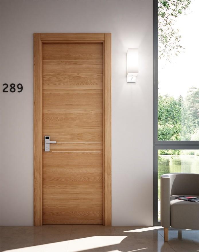 Natural Veneered Wooden Flush Door Design Mdf Living Room: Ul Listed Fire Door 20 Minuets Wood Veneered Solid Core