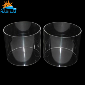 NAXILAI High Quality Custom See-Through Renewable Plastic Cigar Tube Can Use To LED Lamp