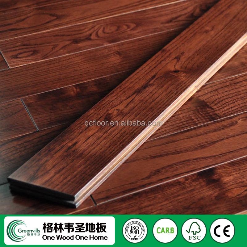 Golden Teak Solid Hardwood Flooring