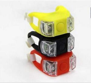 3 Mode 2 LED Bike Bicycle Cycling MTB Head Front Light Rear LED Flash Lamp include battery Bike