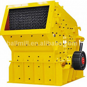 High mechanical reliability tertiary impact crusher for quarry plant in Africa