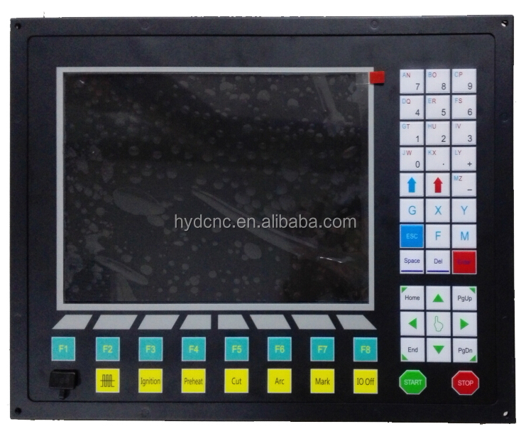 Best price CNC plasma cutting controller system for plasma cutting machine HYD-F2300A