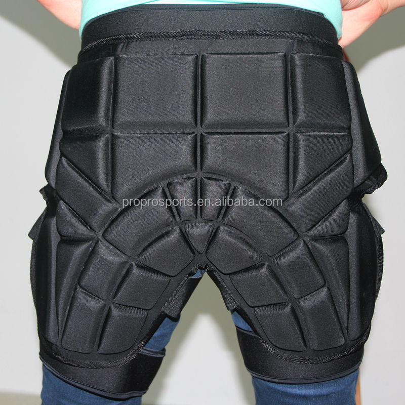 Eva Shock Absorbed Adults Hip Pads Snow Shield Shorts
