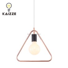 Simple iron wire Edision bulb ceiling pendant lamp