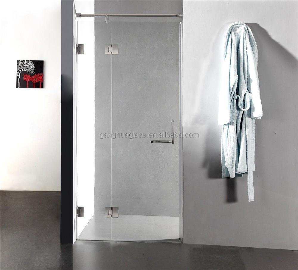 Populaire tanche verre sans cadre porte de douche chambre for Porte de douche sans cadre