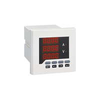 Wholesale three phase analog panel meter voltmeter and ammeter combination meter