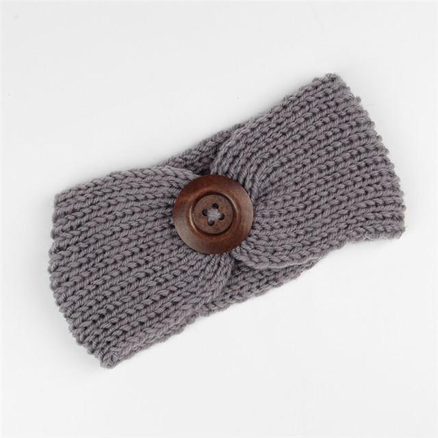 Finden Sie Hohe Qualität Gestrickt Stirnband Mit Knopfverschluss ...