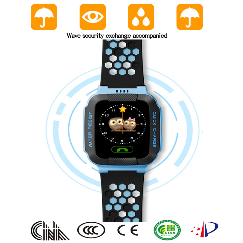 smart children students locator tracker anti-lost kids waterproof gps watch waterproof for kids 2016 with sim card with lighting
