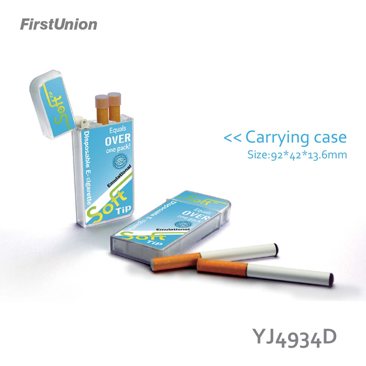 New novelty products 8 mm disposable electronic cigarette YJ4934D 85 mAh mini batteries e cigarette