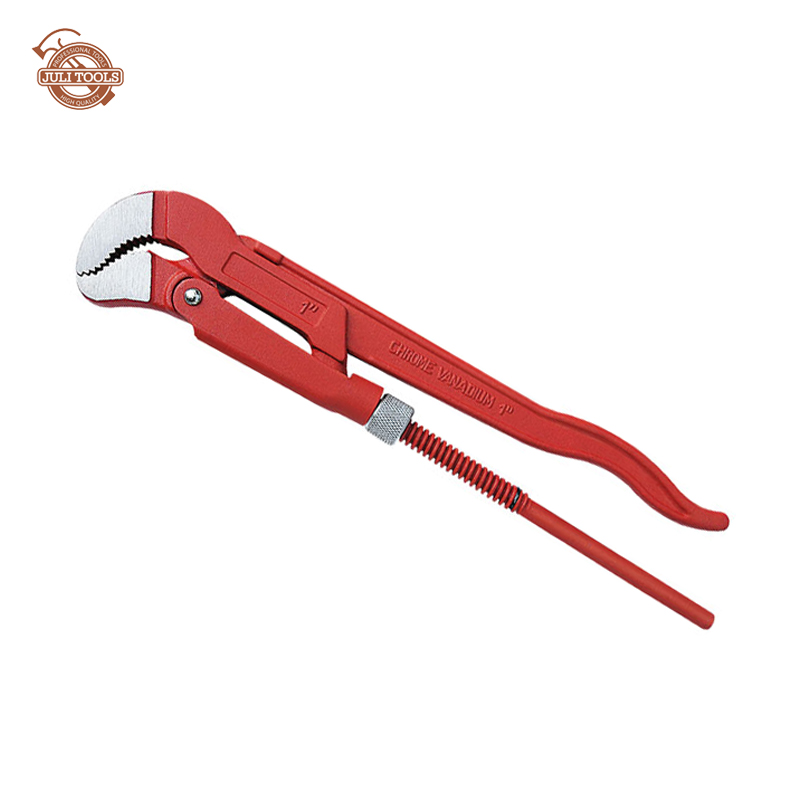 S Type Heavy Duty Stillson Type Angled Pipe Wrench