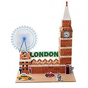 BuW London Big Ben Style Building Block Educational Toys,creative toys of boys girls preschool education games & puzzles hobby