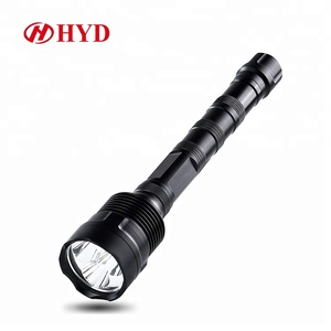 High power self defensive hunting tactical tambas geepas gem rechargeable led flashlight britelite japan torch light mr light