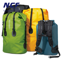 Custom Outdoor Backpack 80L Waterproof Dry Bag with Logo for Camping,Hiking,Floating