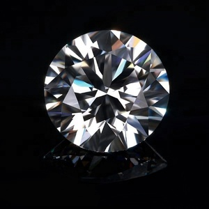 synthetic cz stone round cubic zirconia gems white zircon gemstone Synthetic lab created zircon stone